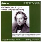 Mendelssohn: Elijah [Earliest Complete Recording]