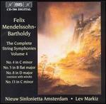Mendelssohn: String Symphonies Vol.4