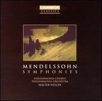 Mendelssohn: Symphonies - Alison Hagley (soprano); Cynthia Haymon (soprano); Leslie Pearson (organ); Peter Straka (tenor);...