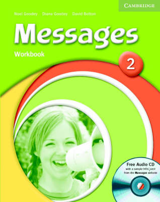 Messages 2 Workbook with Audio CD - Goodey, Diana, and Goodey, Noel, and Bolton, David