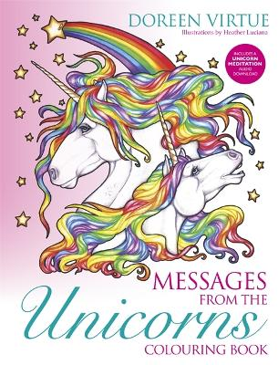 Messages from the Unicorns Colouring Book - Virtue, Doreen