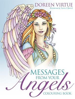 Messages from Your Angels Colouring Book - Virtue, Doreen