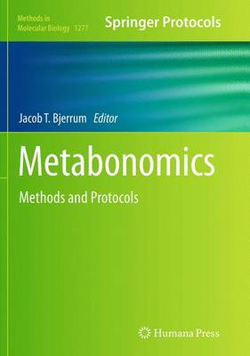 Metabonomics: Methods and Protocols - Bjerrum, Jacob T (Editor)