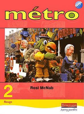 Metro 2 Rouge Pupil Book Euro Edition - McNab, Rosi