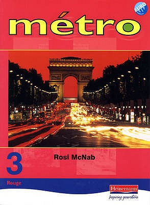 Metro 3 Rouge Pupil Book Euro Edition - McNab, Rosi