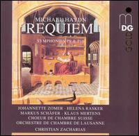 Michael Haydn: Requiem; Symphonies P9 & P16 - Johannette Zomer (soprano); Klaus Mertens (bass); Markus Schafer (tenor); Swiss Chamber Choir (choir, chorus);...