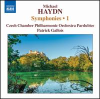 Michael Haydn: Symphonies, Vol. 1 - Filip Dvorák (harpsichord); Czech Chamber Philharmonic Orchestra; Patrick Gallois (conductor)