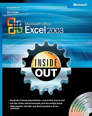 Microsoft Office Excel 2003 Inside Out - Microsoft Corporation, -