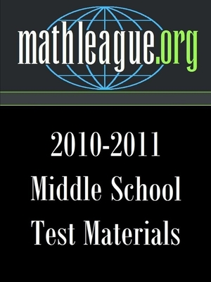 Middle School Test Materials 2010-2011 - Sanders, Tim