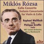 Miklós Rózsa: Cello Concerto; Sinfonia Concertante for Violin & Cello