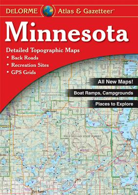 Minnesota - Delorme - Delorme Mapping Company, and Rand McNally, and Delorme Publishing Company