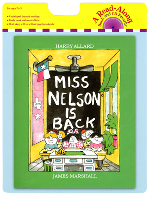 Miss Nelson Is Back Book and CD - Allard, Harry G