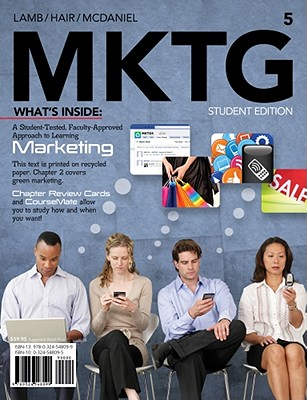 Mktg 5 (with Marketing Coursemate with eBook Printed Access Card) - Lamb, Charles W, and Hair, Joseph F, and McDaniel, Carl