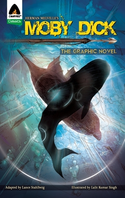 Moby Dick: The Graphic Novel - Melville, Herman, and Stahlberg, Lance (Adapted by)
