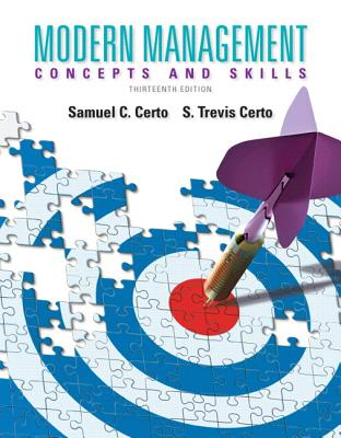 Modern Management: Concepts and Skills Plus 2014 Mymanagementlab with Pearson Etext -- Access Card Package - Certo, Samuel C, Ph.D., and Certo, Trevis