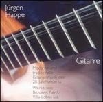 Moderne und traditionelle Gitarrenmusik des 20. Jahrunderts