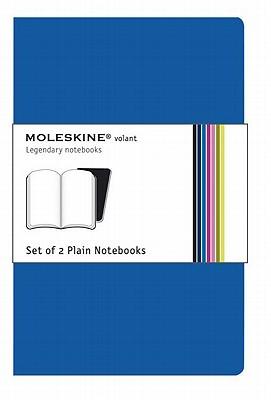 Moleskine Volant Plain Notebook: Blue - Moleskine