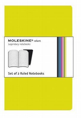 Moleskine Volant Ruled Notebook: Lime Green Large - Moleskine (Creator)
