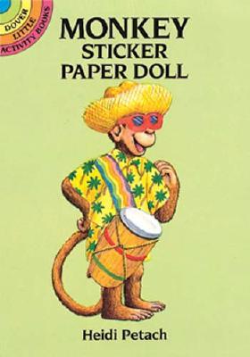 Monkey Sticker Paper Doll - Petach, Heidi