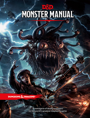 Monster Manual: A Dungeons & Dragons Core Rulebook - Wizards of the Coast