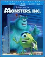 Monsters, Inc. [3 Discs] [Blu-ray/DVD] - David Silverman; Lee Unkrich; Pete Docter
