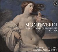 Monteverdi: Il Sesto Libro de Madrigali MDCXIV - Andrea Damiani (lute); Andrea Damiani (theorbo); Bianca Simone (mezzo-soprano); Claudio Cavina (counter tenor);...