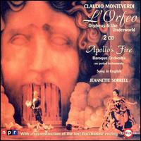 Monteverdi: L'Orfeo - Apollo's Singers; Gareth Morrell (vocals); Marc Molomot (vocals); Margaret Bragle (vocals); Meredith Hall (vocals);...
