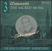 Monteverdi: The Sacred Music, Vol. 3 - Carolyn Sampson (soprano); Charles Daniels (tenor); Daniel Auchincloss (high tenor vocal); Eligio Quinteiro (chitarrone);...