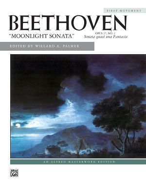Moonlight Sonata, Op. 27, No. 2 (1st Movement) - Beethoven, Ludwig Van (Composer), and Palmer, Willard A (Editor)