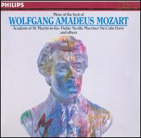 More of the Best of Wolfgang Amadeus Mozart - Alan Harverson (organ); Alfred Brendel (piano); Clifford Grant (vocals); David Lennox (vocals); Helen Donath (soprano); Imogen Cooper (piano); Ingvar Wixell (vocals); Jessye Norman (vocals); Lillian Watson (vocals); Margaret Marshall (soprano)