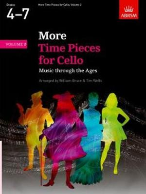 More Time Pieces for Cello: Music Through the Ages -