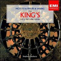 Motets by Philips & Dering - Daniel Sladden (bass); John Bowley (tenor); Jonathan Sanders (tenor); Lionel Pike (continuo); Martin Eastwood (tenor);...