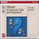 Mozart: 16 Sonatas for Violin & Harpsichord