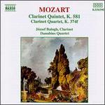 Mozart: Clarinet Quintet, K. 581; Clarinet Quartet, K 374f