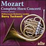 Mozart: Complete Horn Concerti (including Fragments)