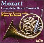 Mozart: Complete Horn Concerti (including Fragments)