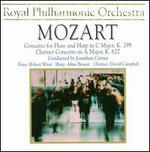 Mozart: Concerto for Flute & Harp K. 299; Clarinet Concerto K. 622