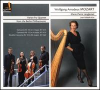 Mozart: Concerto Nr. 13 KV 415; Concerto Nr. 12, KV 414; Double Concerto Nr. 10, KV 365 - Joan Rafaelle Kim (harp); Marie-Pierre Langlamet (harp); Varian Fry Quartet