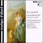 Mozart: Concertos K. 107 d'après J. Ch. Bach