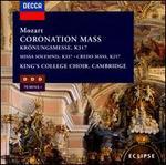 Mozart: Coronation Mass; Missa Solemnis; Credo Mass