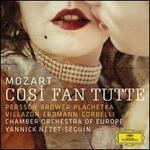Mozart: Così fan tutte - Adam Plachetka (vocals); Alessandro Corbelli (vocals); Angela Brower (vocals); Benjamin Bayl (fortepiano); Miah Persson (vocals); Mojca Erdmann (vocals); Richard Lester (continuo violoncello); Rolando Villazón (vocals)