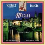 Mozart: Divertimenti, Vol. 1