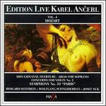 """Mozart: Don Giovanni, Overture, Arias for Soprano; Concerto for Violin No. 2; Symphony No. 31 """"Paris"""""""