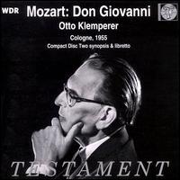 Mozart: Don Giovanni - Benno Kusche (vocals); George London (vocals); Hilde Zadek (vocals); Horst Günter (vocals); Léopold Simoneau (vocals);...
