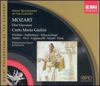 Mozart: Don Giovanni - Eberhard Wächter (vocals); Elisabeth Schwarzkopf (vocals); Giuseppe Taddei (vocals); Gottlob Frick (vocals);...