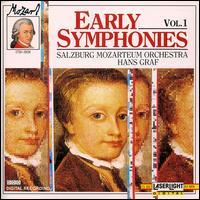 Mozart: Early Symphonies, Vol. 1 - Salzburg Mozarteum Orchestra; Hans Graf (conductor)