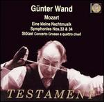 Mozart: Eine kleine Nachtmusik; Symphonies Nos. 33 & 34; Stölzel: Concerto Grosso a quattro chori