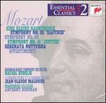 """Mozart: Eine Kleine Nachtmusik; Symphonies Nos. 35 """"Haffner"""", 40, 41 """"Jupiter""""; Serenata Notturna; Divertimenti"""
