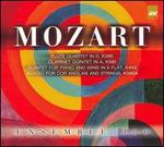 Mozart: Flute Quartet in D; Clarinet Quintet in A; Quintet for Piano and Winds; Adagio for Cor Anglais and Strings