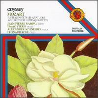 Mozart: Flute Quartets - Alexander Schneider (viola); Isaac Stern (violin); Jean-Pierre Rampal (flute); Leonard Rose (cello)